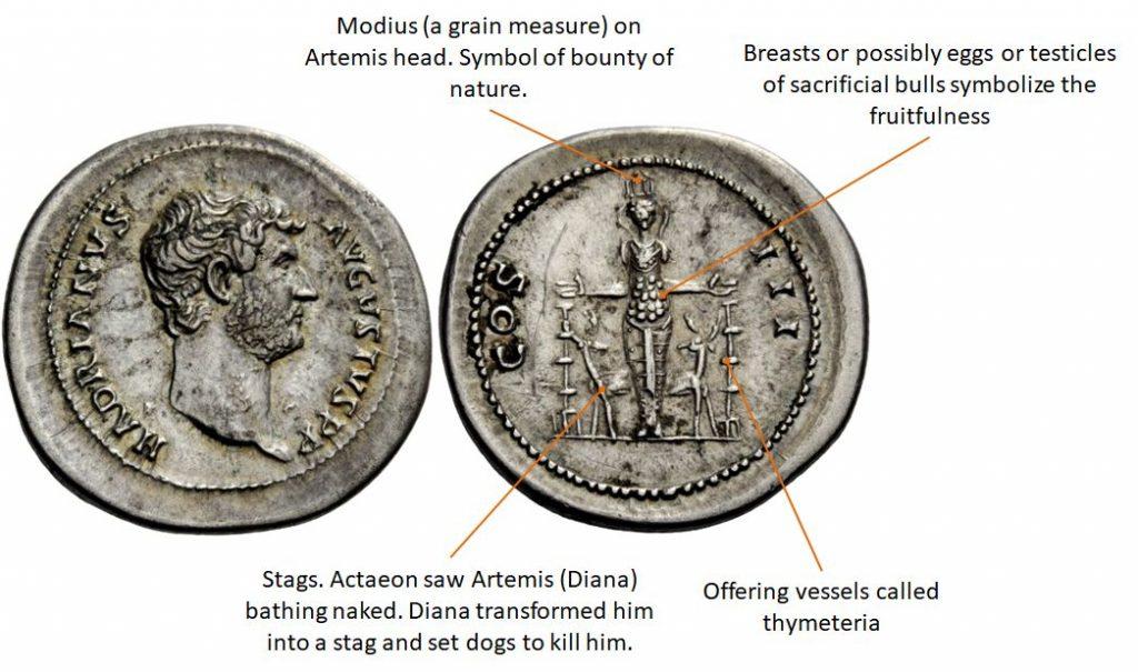 Cistophoric tetradrachm, mint under Hadrian after 128
