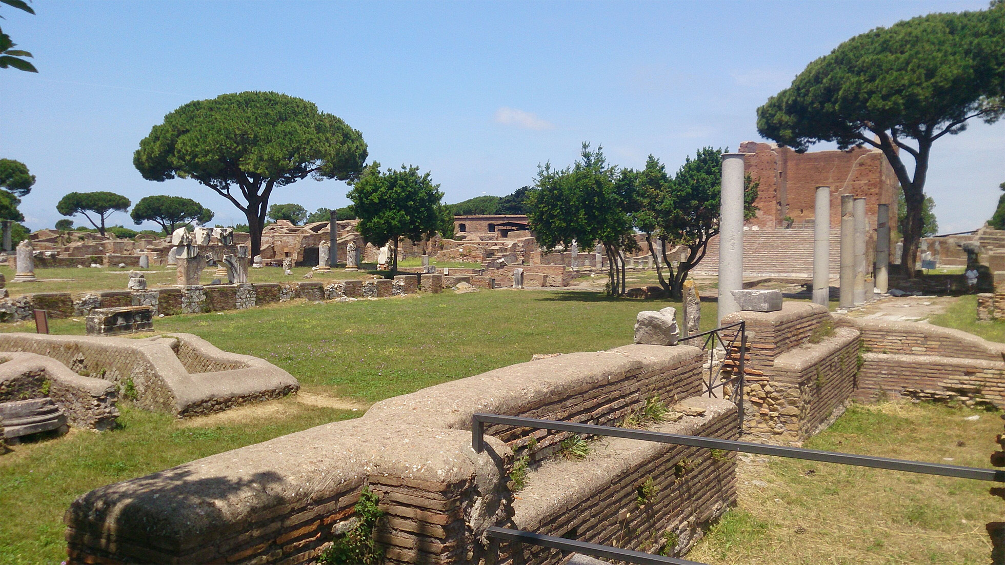 Ostia Antica – A tranquil gem a short stop from Rome
