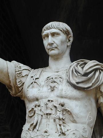 Trajan Roman Imperator.