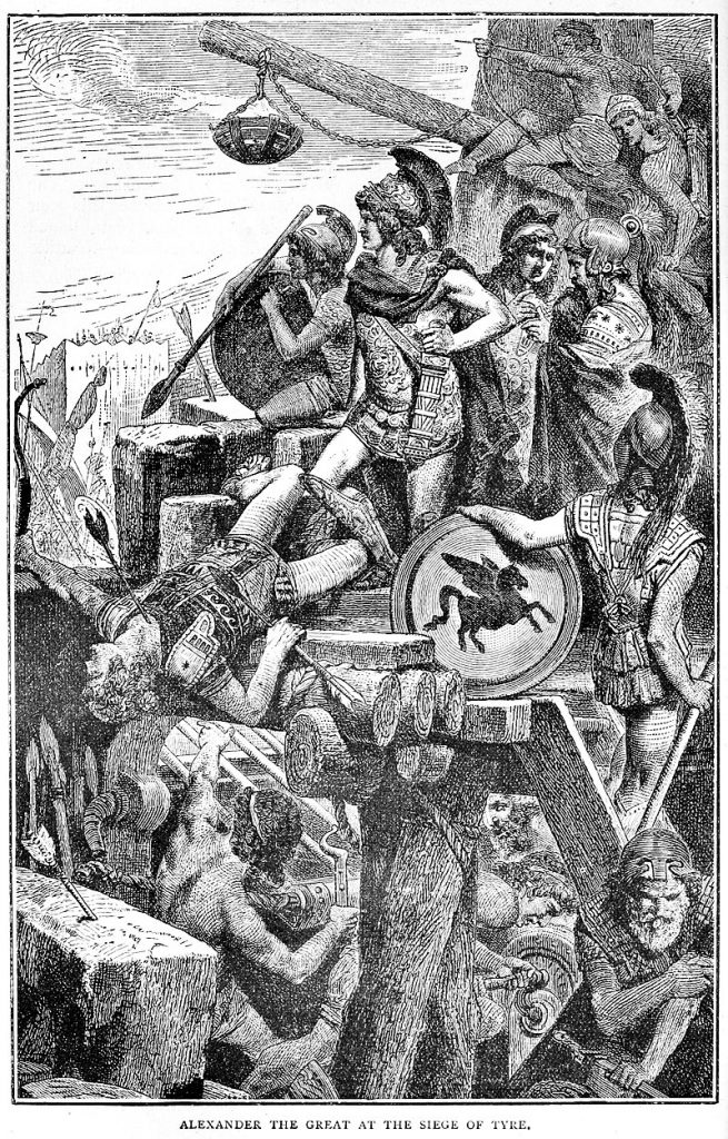 Alexander the Great in the Siege of Tyre