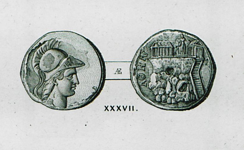 """Illustration from """"Reisen und Untersuchungen in Griechenland"""