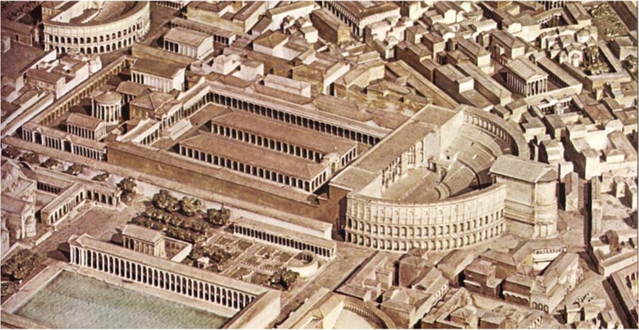 Campus Martius - Theatre of Pompeius