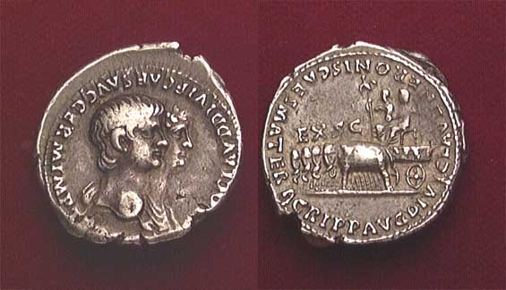 Nero Agrippina Ancient Coins